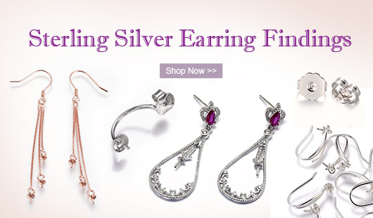 Sterling Silver Earring Findings
