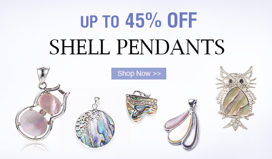 Shell Pendants UP TO 45% OFF