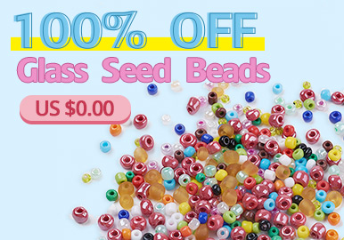 100% OFF Glass Seed Beads