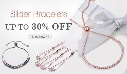 Slider Bracelets UP TO 30% OFF