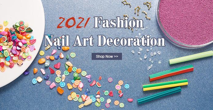 2021 Fashion Nail Art Decoration
