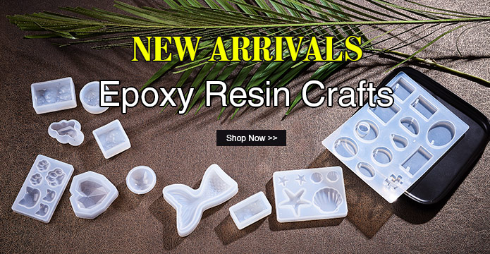NEW ARRIVALS Epoxy Resin Crafts