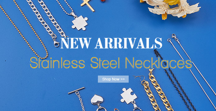 NEW ARRIVALS Stainless Steel Necklaces