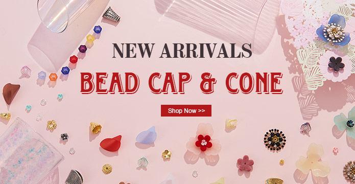 NEW ARRIVALS Bead Cap & Cone