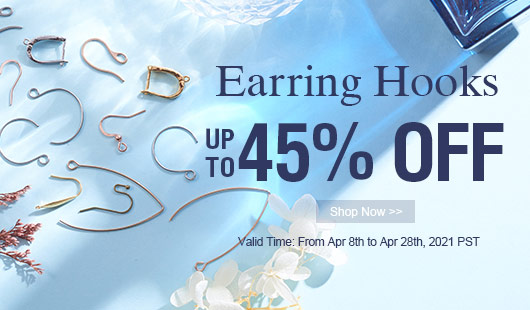Earring Hooks UP TO 45% OFF