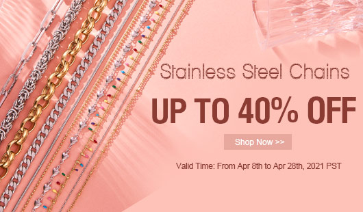 Stainless Steel Chains UP TO 40% OFF