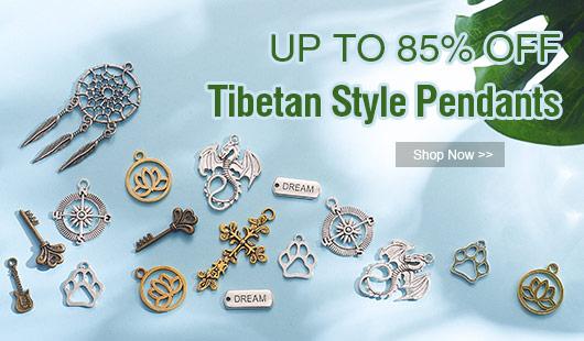 UP TO 85% OFF Tibetan Style Pendants