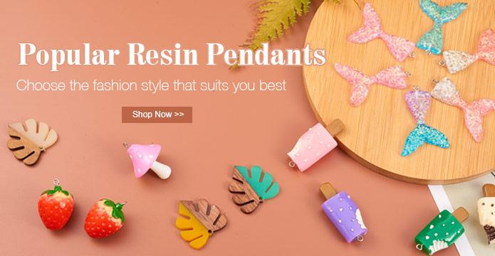 Popular Resin Pendants