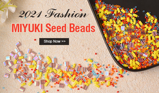 2021 Fashion MIYUKI Seed Beads
