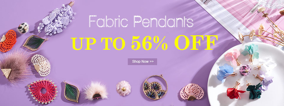 Fabric Pendants UP TO 56% OFF