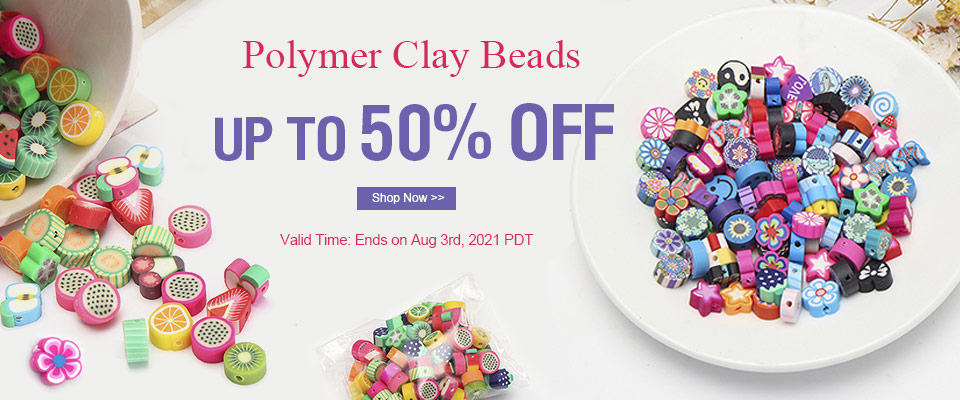 Top Seller Polymer Clay Beads UP TO 50% OFF