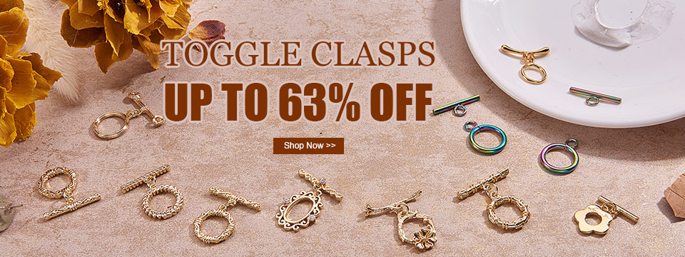 Toggle Clasps UP TO 63% OFF