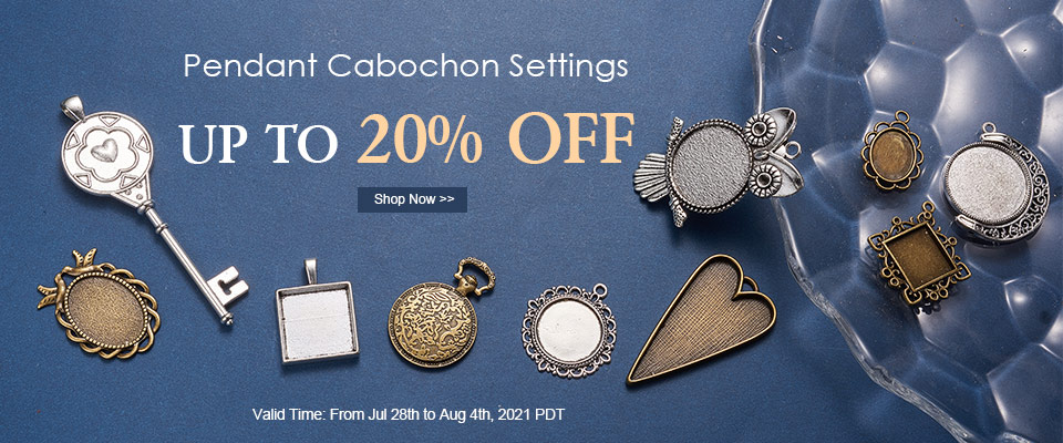 Pendant Cabochon Settings UP TO 20% OFF