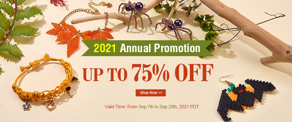 2021 Annual Promotion UP TO 75% OFF