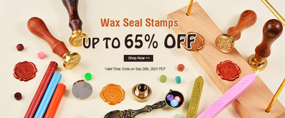 Wax Seal Stamps UP TO 65% OFF