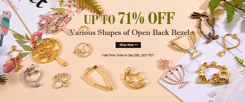 Various Shapes of Open Back Bezel     UP TO 71% OFF