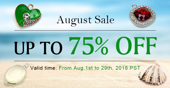 August Sale Up to 75% OFF