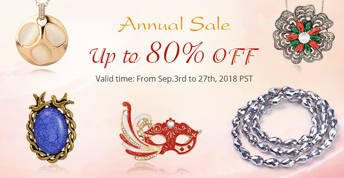 Annual Sale Up to 80% OFF