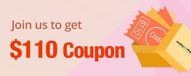 Join us to get $110 free Coupons