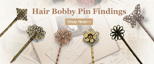 Hair Bobby Pin Findings