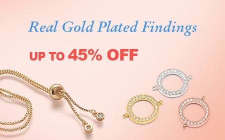 Real Gold Plated Findings UP TO 45% OFF