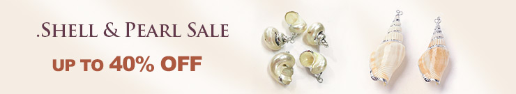 Shell & Pearl Sale UP TO 40% OFF