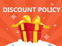 Discount policy