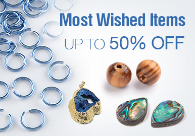 Most Wished Items Up To 50% OFF