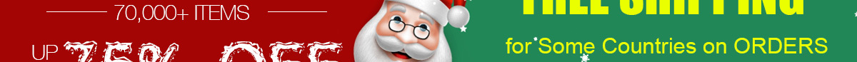Christmas Promotion Up To 75% OFF