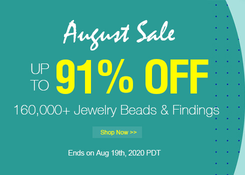 August Sale Up to 91% OFF