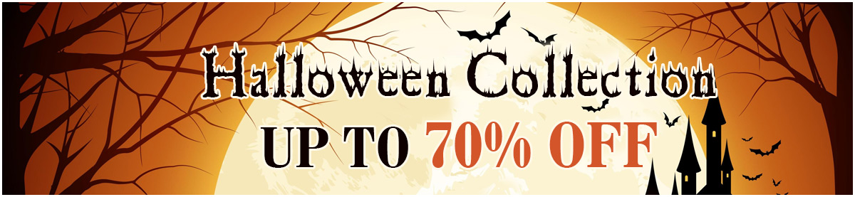 Halloween Collection UP TO 70% OFF