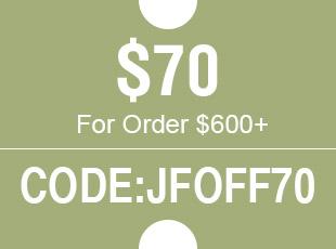 $70 For Order $700+