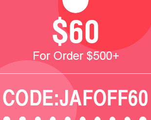 $60 For Order $500+