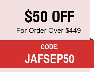 $50 For Order $499+